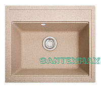 Плита гранітна мийка Solid Гросс пісок 60x52, фото 1