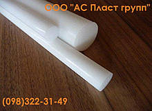 Полиэтилен РЕ-500, стержень, диаметр 40.0 мм, длина 1000 мм.