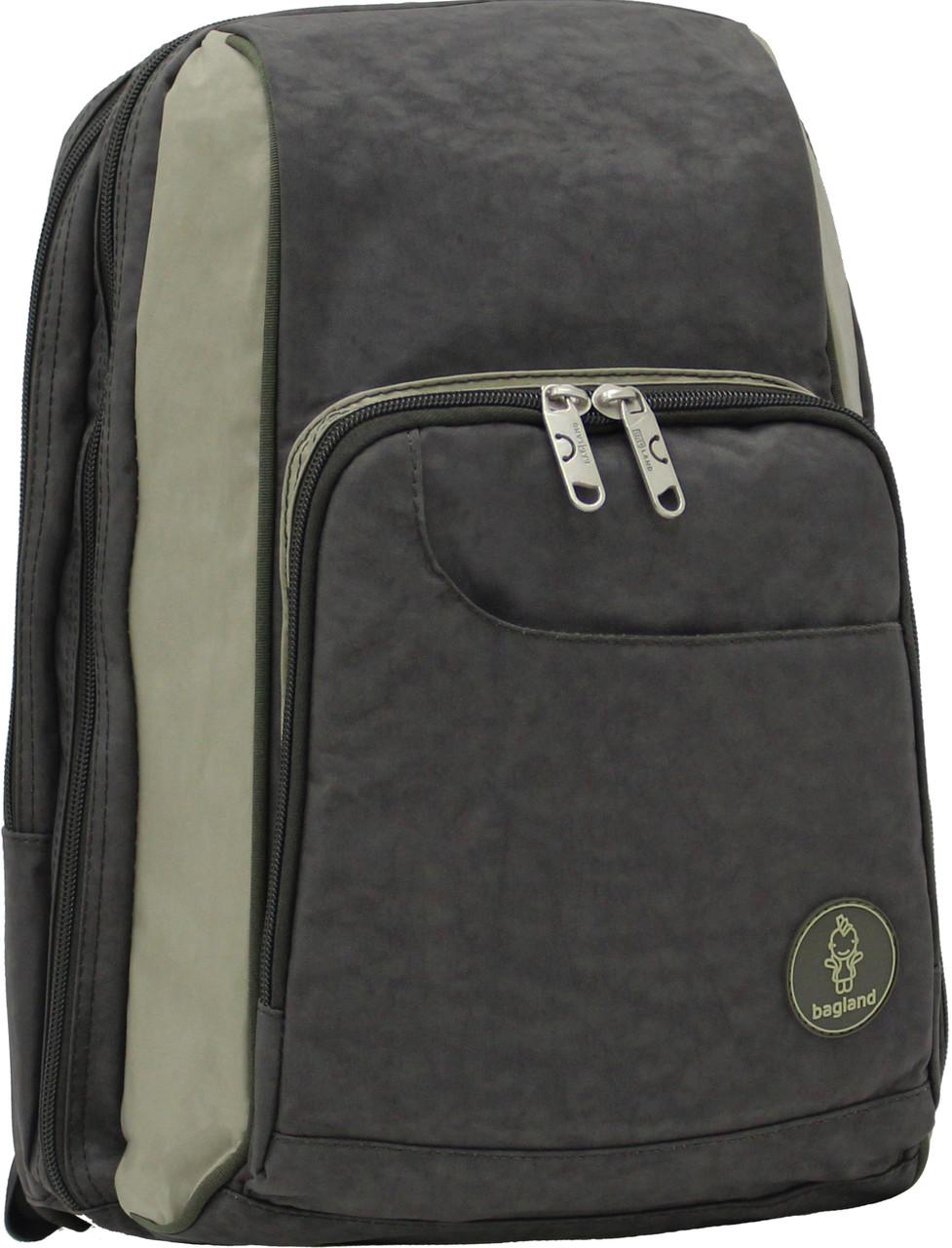 Украина Школьный рюкзак Bagland Стингер 16 л. Хаки/оливка (0014970)