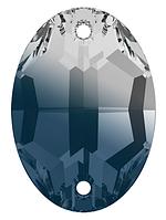 Стразы Swarovski пришивные 3210 Crystal Montana Blend