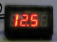 ШТУРМАН 5 - Часы, вольтметр и тахометр с цифровым дисплеем