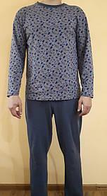 Пижама мужская из стрейчивого трикотажа 609