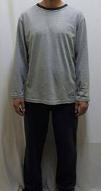 Пижама мужская хлопковая со штанами 607