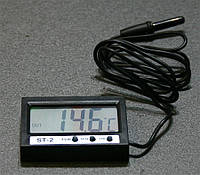 Tempus - Часы / термометр с выносным датчиком температуры (цифровой дисплей) - ST-2