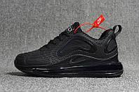 Мужские кроссовки Nike Air Max 720 Black (реплика) 41