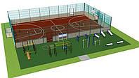 Проектирование спортивной площадки.
