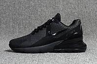 Мужские кроссовки Nike Air Max Flair 270 Black  (реплика) 45