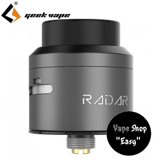 Дрипка   GeekVape Radar RDA Gun Metal (Оригинал).