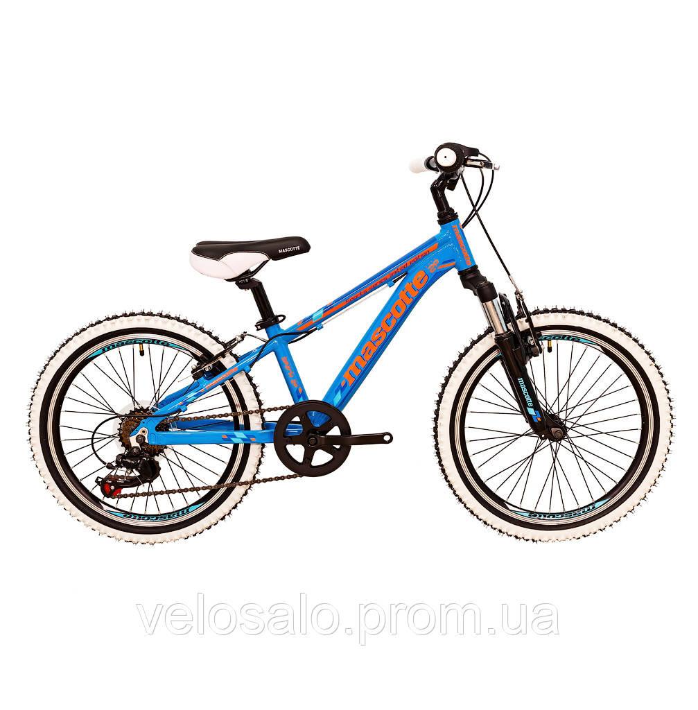 ef8948686 Детский спортивный горный велосипед Mascotte Spark 20