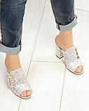 Элегантные женские мюли Eili с пряжкой на каблуке, фото 3