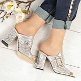 Элегантные женские мюли Eili с пряжкой на каблуке, фото 4