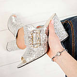 Элегантные женские мюли Eili с пряжкой на каблуке, фото 2