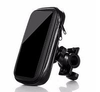 Чехол для телефона с креплением на руль вело/мото. До 6 дюймов!