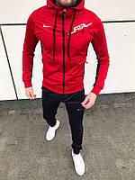 Мужской спортивный костюм красный Коллекция 2019