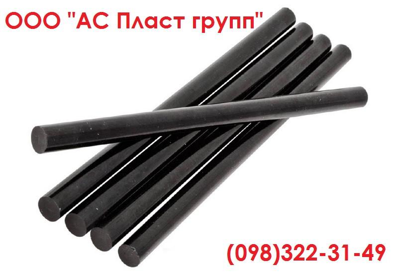Полиэтилен, стержень, графитонаполненный, диаметр 40.0 мм, длина 1000 мм.