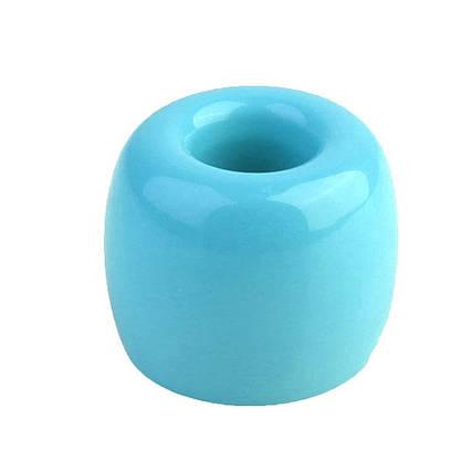 Держатель зубной щетки Tariker керамический голубой, фото 2