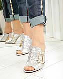 Элегантные женские мюли Eili с пряжкой на каблуке, фото 5
