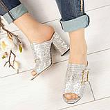 Элегантные женские мюли Eili с пряжкой на каблуке, фото 8
