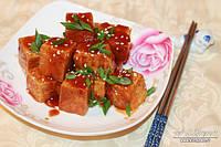 Жареный тофу в кисло-сладком соусе 250 г