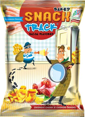 Снеки Chips Track жареные со вкусом бекона 40г