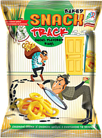 Снеки Chips Track смажені зі смаком сметани та зелені 40г