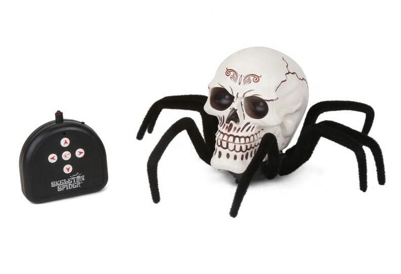 Радіокерована іграшка SUNROZ Skeleton Spider павук з черепом на р/к (SUN3613)