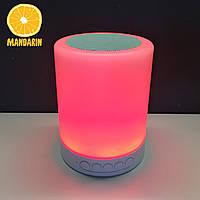 Портативная колонка Bluetooth со встроенной подсветкой