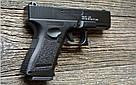Дитяча іграшка Пістолет Глок Glok Металевий, фото 4