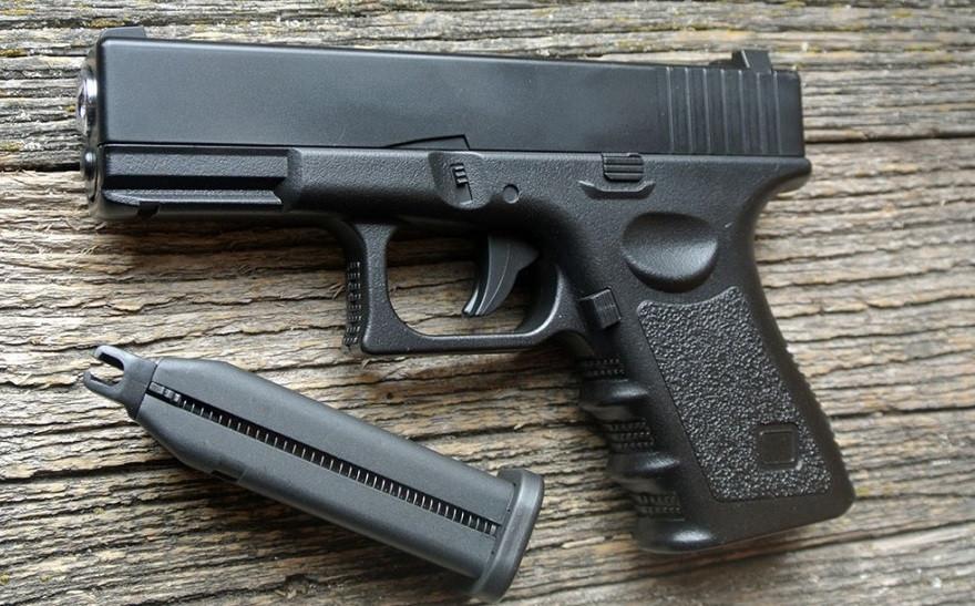 Дитяча іграшка Пістолет Глок Glok Металевий