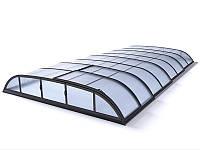 Павильон для бассейна Dallas A 4,07x6,4x0,75м - Silver elox