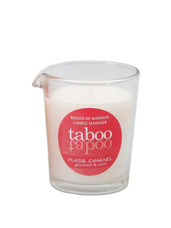 Массажная свеча Taboo Massage Candle кокосовый цветок