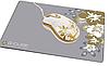 Проводная мышь с узором g-cube gmla-206 sr с ковриком