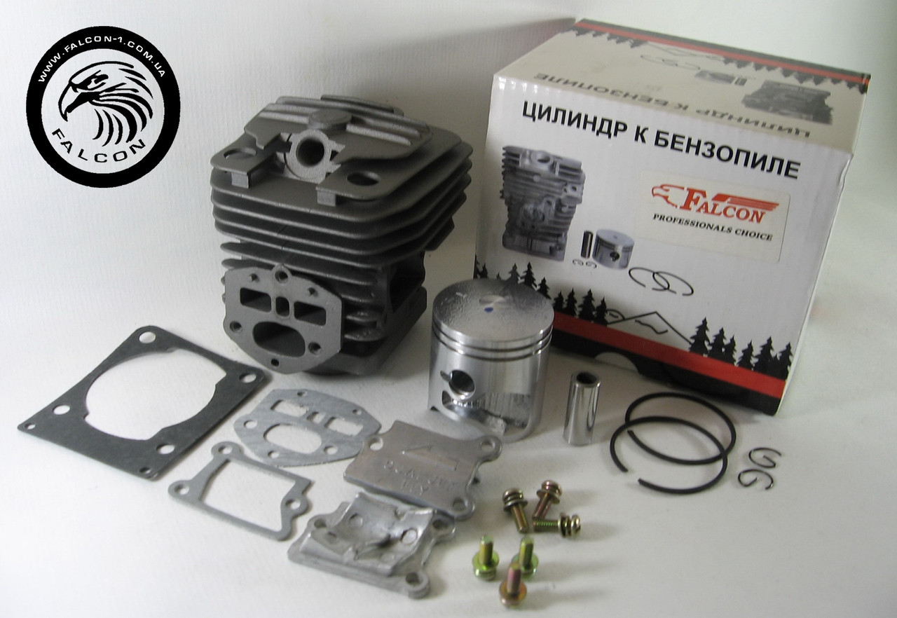 Цилиндр с поршнем Partner P340S, P350S P360S, Ryobi RCS 3540C (5838382-01) для бензопил Партнер
