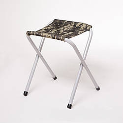 Складной стул Рыбак - Эконом Ø 20 мм (камуфляж бирюза)