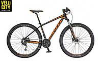 Велосипед SCOTT ASPECT 750 (2018) чёрно/оранжевый, фото 1
