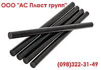Полиэтилен, стержень, графитонаполненный, диаметр 80.0 мм, длина 1000 мм.