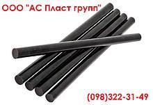 Полиэтилен, стержень, графитонаполненный, диаметр 100.0 мм, длина 1000 мм.