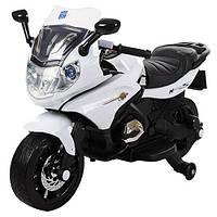 Детский мотоцикл  M 3571 EL-1 белый