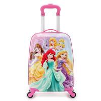 Детский чемодан на 4 колесиках Принцессы Дисней 29 литра