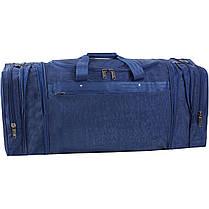 Украина Спортивная сумка Bagland Мюнхен 59 л. Синий (0032570), фото 2