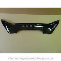 Дефлектор капота (мухобойка) Seat Altea c 2004 г.в. (Сеат Алтея) Vip Tuning