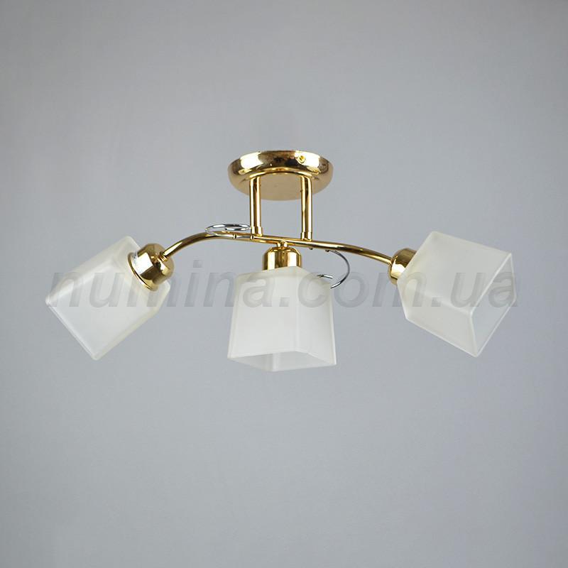 Люстра потолочная на три лампочки MD-53373/3С FG