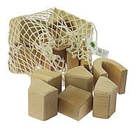 Конструктор nic деревянный Большой натуральный 17 эл. NIC523283