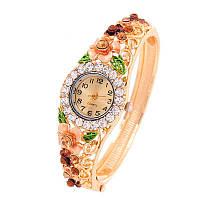 Женские часы с орнаментом Wild Rose