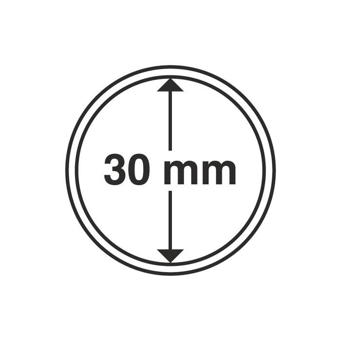 Капсула Leuchtturm для монети 30 мм