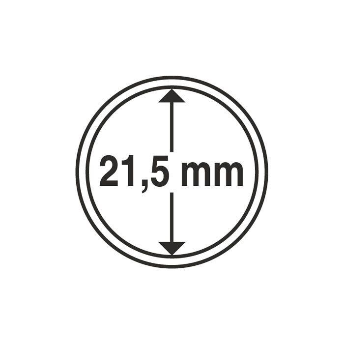 Капсула Leuchtturm для монеты 21,5 мм