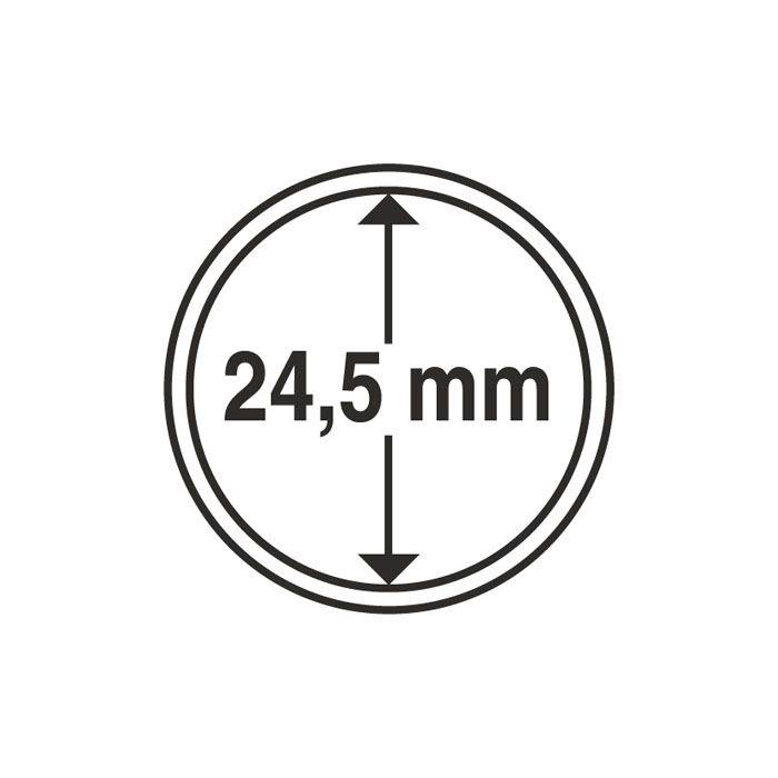 Капсула Leuchtturm для монеты 24,5 мм