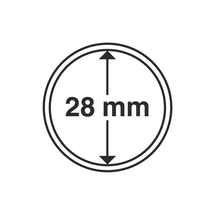 Капсула для монеты 28 мм, Leuchtturm