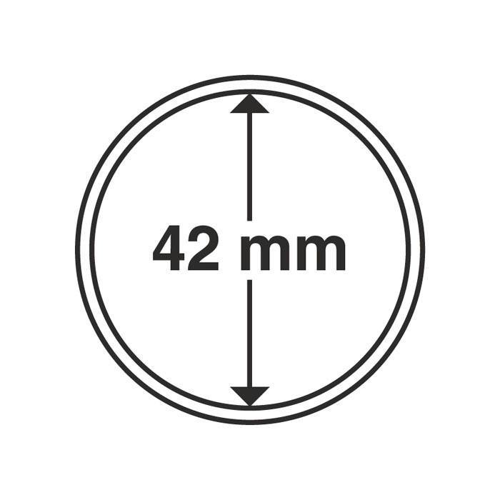 Капсула для монеты 42 мм, Leuchtturm