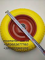 Колесо полиуретановое 3.5* 8  ( диаметр оси 20 мм)